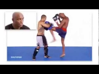 Anderson Silva: Training and Techniques for Muay Thai MMA (Full Training Video) -1