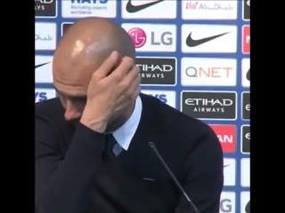 Journalist_ Can you win the quadruple Pep Guardiola_ What the fck