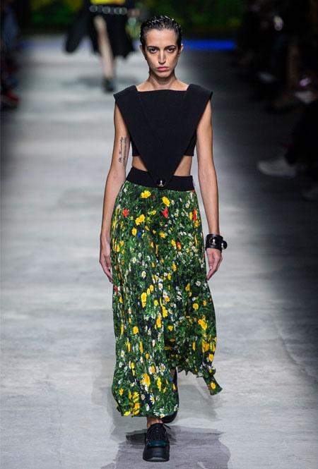 Самые модные юбки лета 2020, изображение №9