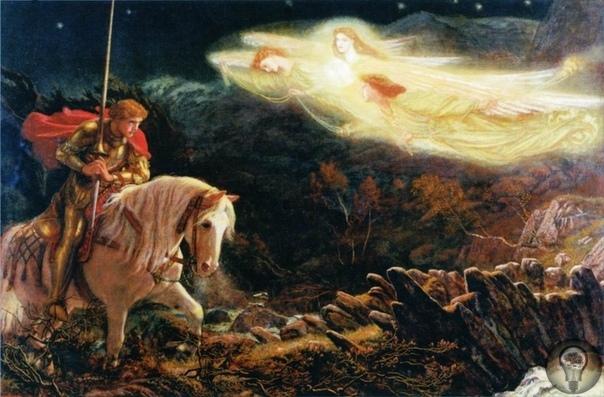 Кто из рыцарей Круглого Стола видел Святой Грааль