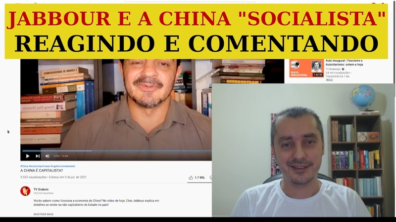 JABBOUR E A CHINA SOCIALISTA REAGINDO EP 140