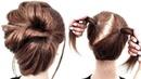ПРОСТАЯ ПРИЧЕСКА ИЗ 2 РЕЗИНОК НА КОРОТКИЕ ВОЛОСЫ. SIMPLE 2 RUBBER HAIRSTYLE ON SHORT HAIR.