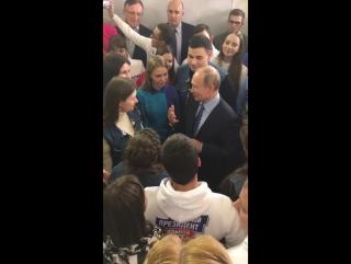 Открытие предвыборного штаба В.В.Путина