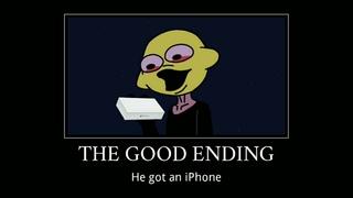 (FNF) Lemon demon ain't got no iPhone   The Good Ending