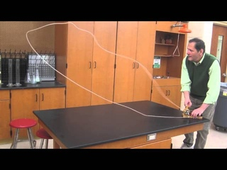 String shooter-String launcher- physics of toys  //// Homemade Science with Bruce Yeany