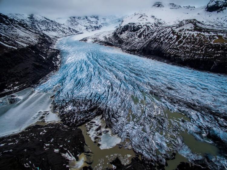 Свинафелльсьёкулл (Svinafellsjokull) – знаменитый исландский ледник, изображение №1