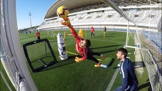 Goalkeeper Training/Entrenamiento de Porteros Málaga CF - Season 2018/2019 (EDP Toni Mengual)