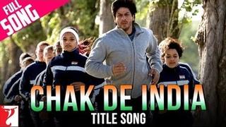 Chak De India Title Song   Shah Rukh Khan