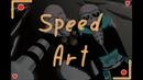 Speed Art ~Voidtale~