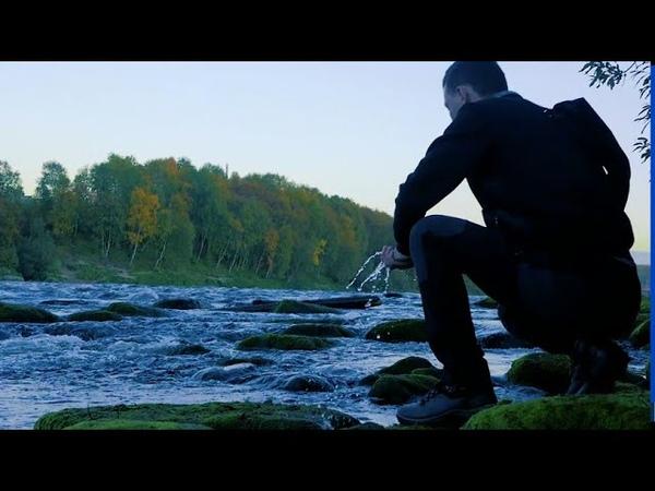 Russia Murmansk. Hiking alone. Travel video.
