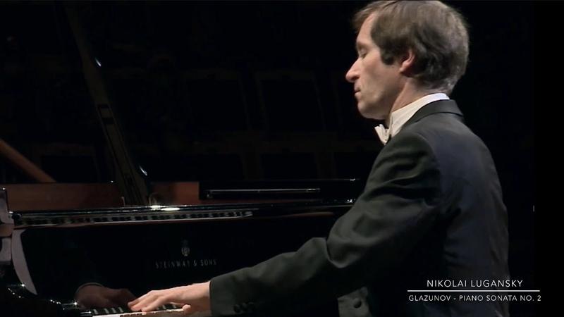 Lugansky Glazunov Piano Sonata No 2 in E minor