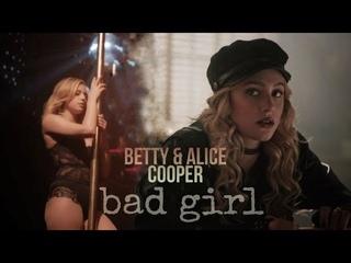 betty & alice cooper // bad girl