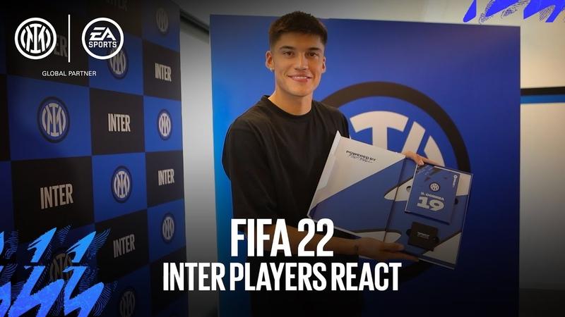FIFA 22 VIP PACK INTER PLAYERS REACT 😂🎮🎁⚫🔵 SUB ENG