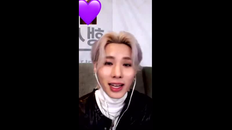 201122 apple music video call fansign with ELast - Wonhyuk - - He sang Because of You - - 엘라스트 ELAST 원혁