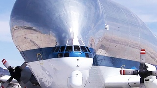 This Super Ugly US Plane can Fit an Entire House Inside Its Head